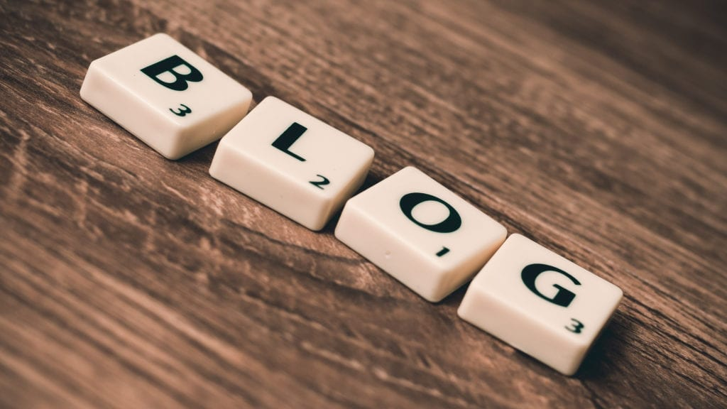 Blog tile