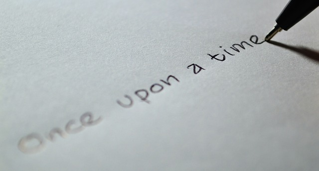 Tell Your Story Pen Paper The Content Consultancy