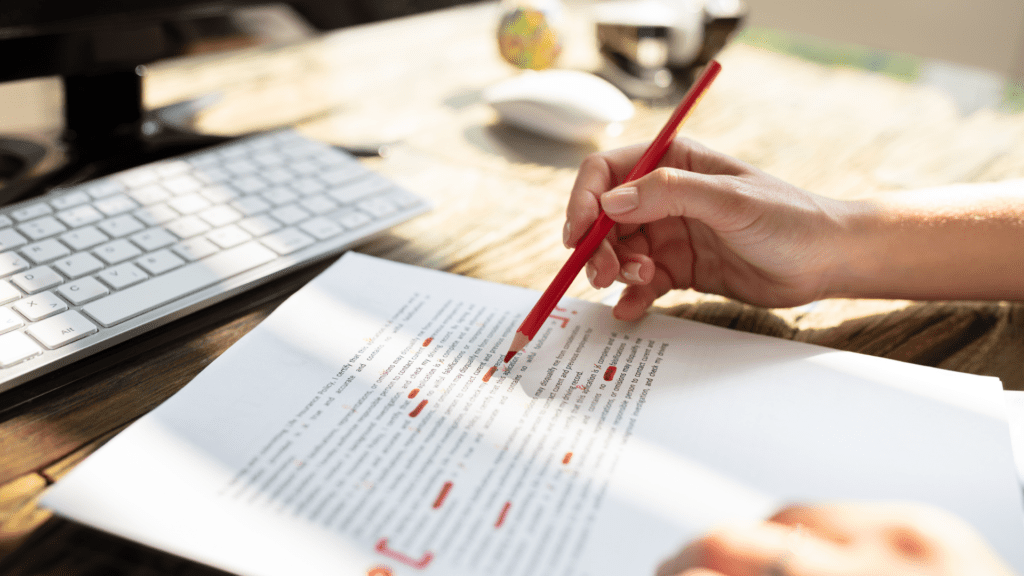 proofreading blog The Content Consultancy